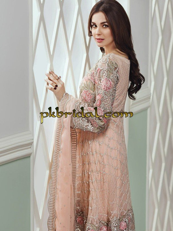 8e8cd5f13f Baroque Chantelle Embroidered Chiffon Collection 2018 | Pakistani ...
