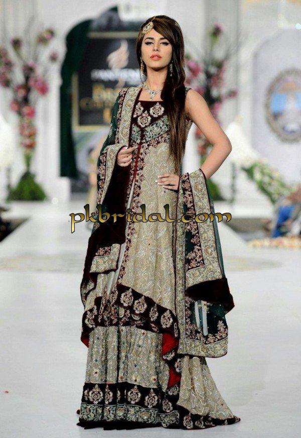 Black Pakistani Wedding Dresses