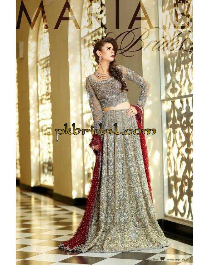 Designer bridal dresses latest pakistani wedding dresses for Pakistani designer wedding dresses