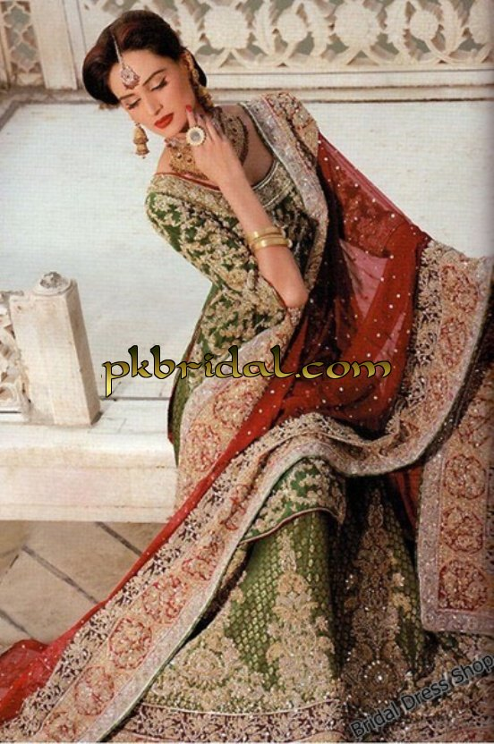 Wedding dresses pictures in pakistan
