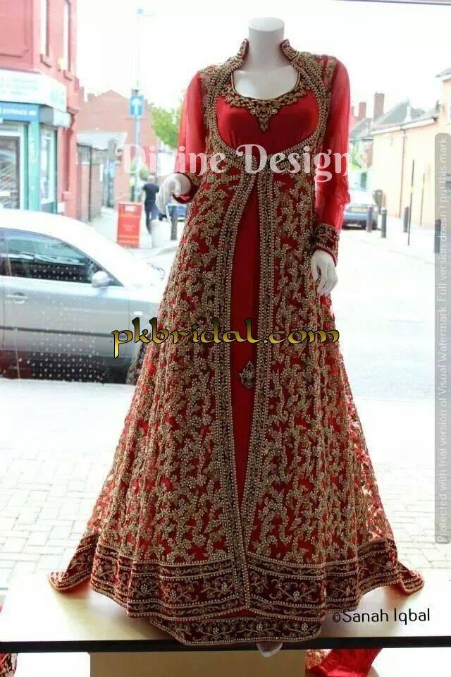 Maxi Dress For Wedding Reception Pakistani