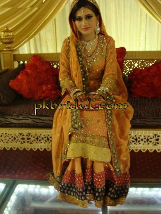 Mehndi For Wedding Parties : Latest mehndi ladies dresses best mayoon outfits designs