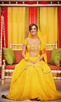 Latest Bridal Mehndi Dresses Collection 2011