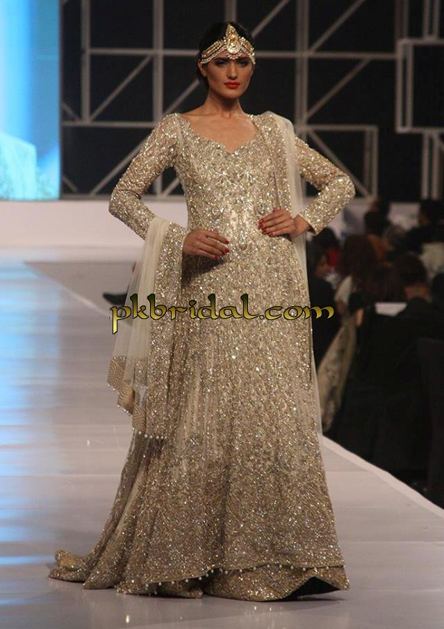 Pakistani Black Wedding Designer Lehenga Dress