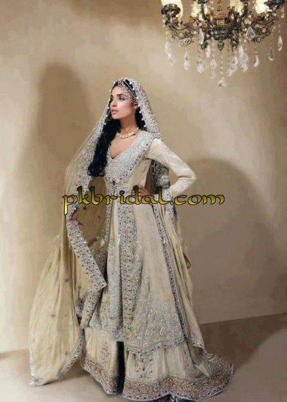 Pakistani bridal valima dress walima lehenga 2014 for Romanian wedding dress designer