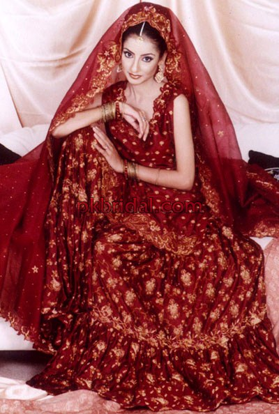 Sharara and Lehnga Design in Red