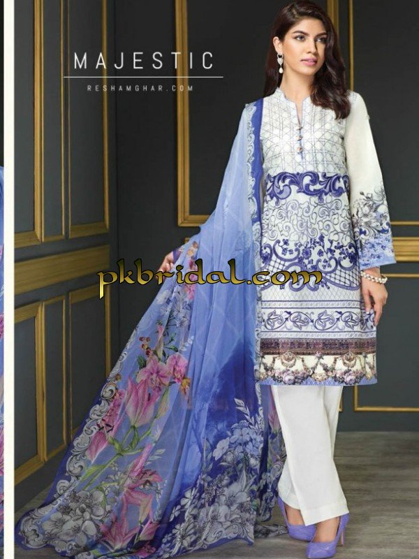c83f61f947 Resham ghar Chiffon Collection | Pakistani Wedding Dressess | Party ...