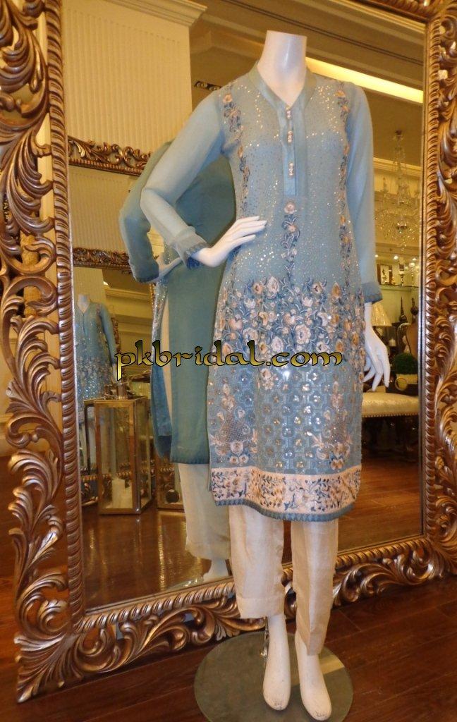 Threads And Motifs Collection Pakistani Wedding Dressess