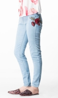 Women Soft Denim Jeans 2017