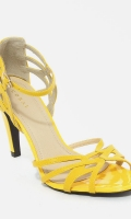 yellow-mustard-leather-high-heels