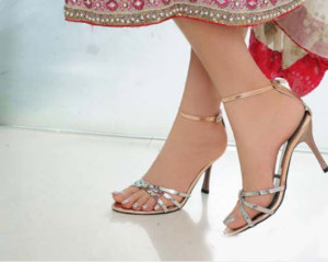 3d126ae0046 Latest Pakistani Bridal Shoes Heels