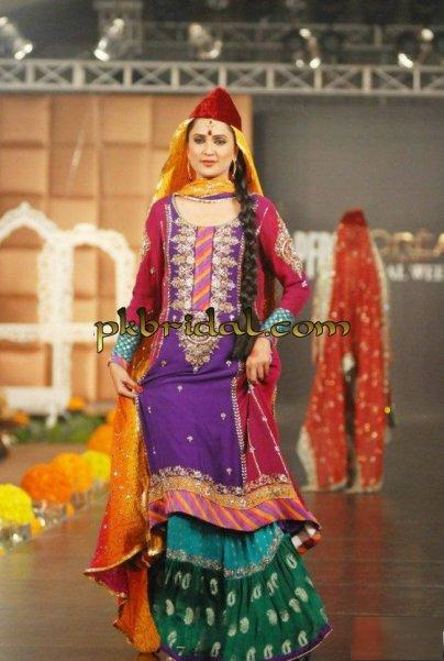 Multi Color Gharara