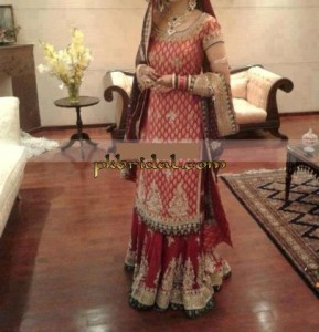 Long Shirt Bridal Lehenga