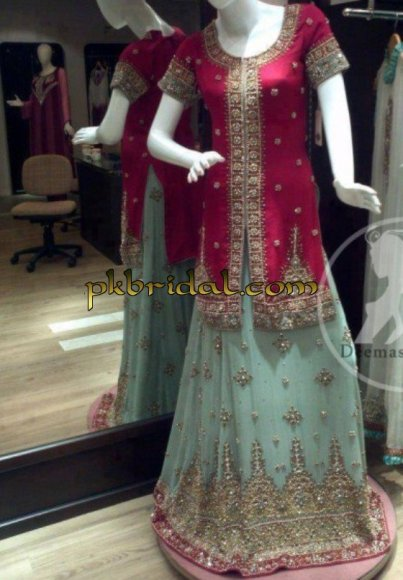 Pinkish Lehengs