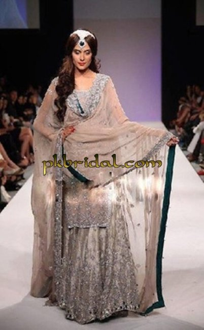 Light Brown Bridal Lehenga