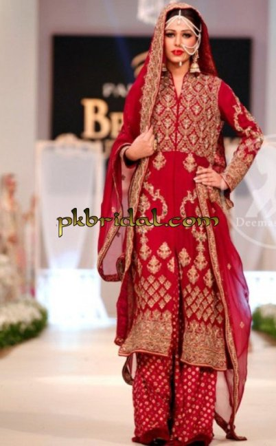 Deep Red Sharara