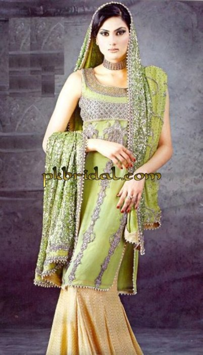 Embroidered Bridal Sharara