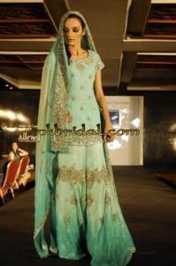 Sea Green Sharara