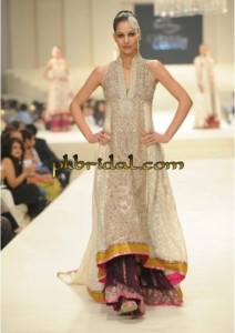 Off White Bridal Sharara