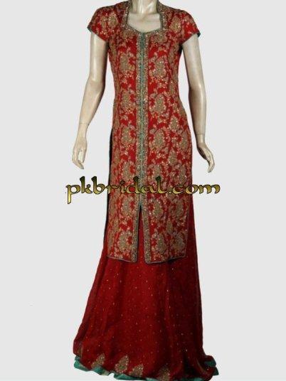 Deep Red Sharara