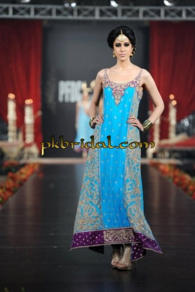 Blue Evening Wear Dress