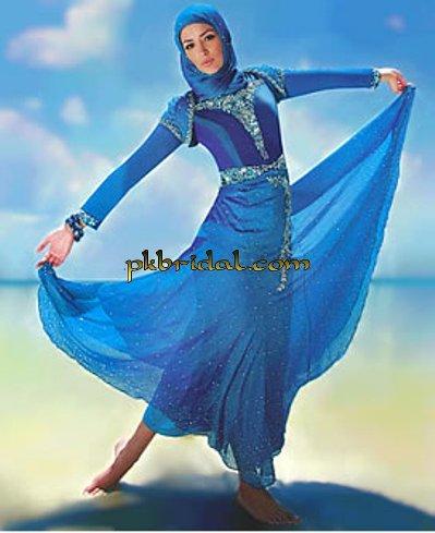 Blue Hijab