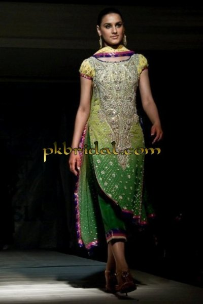 Formal Mehndi Wear