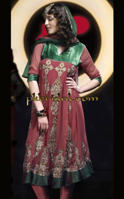 Anarkali Party Dress
