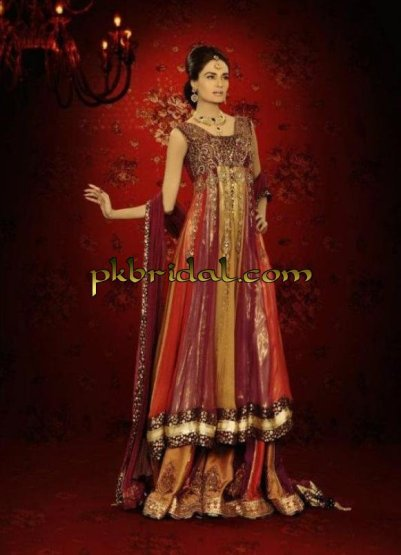 Pakistani Red Bridal Suit