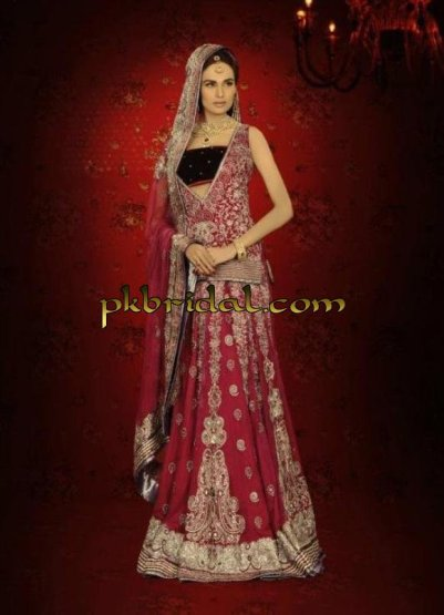 Elegant Red Bridal Suit