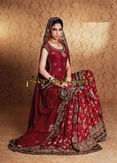 Latest Red Bridal Suit