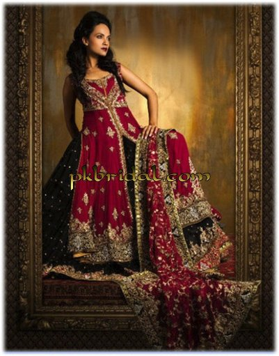 Embellished Red Bridal Suit