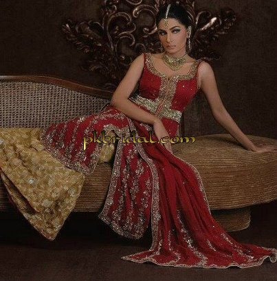 Red Bridal Suit