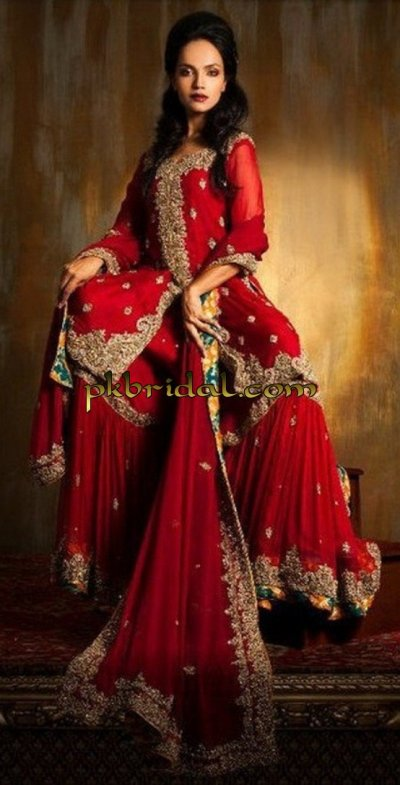 Red Traditional Suit