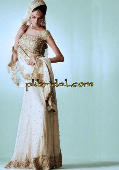 Rose White Bridal Dress