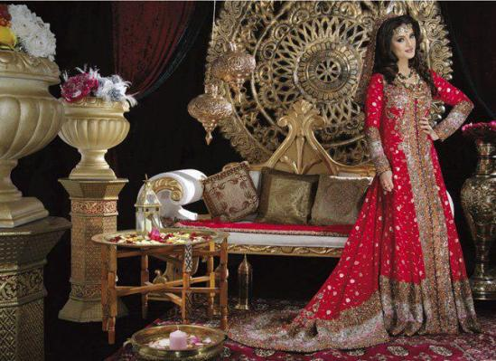 Pakistani Heavy Bridal Dresses