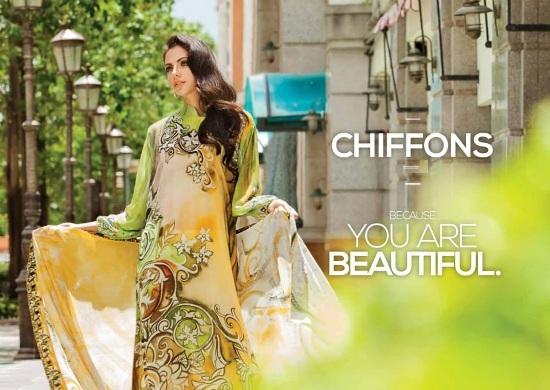 Chiffon Suits