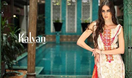 Kalyan Embroidered Lawn