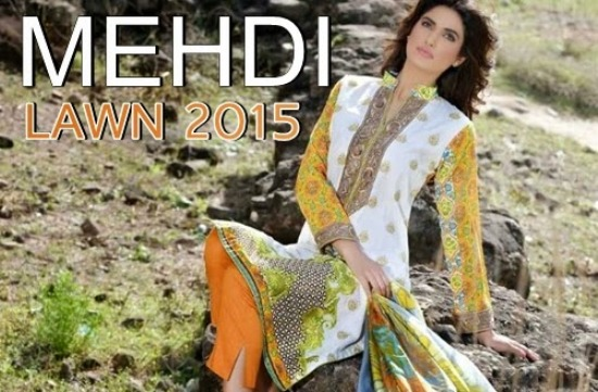 Mehdi Lawn Suits 2015