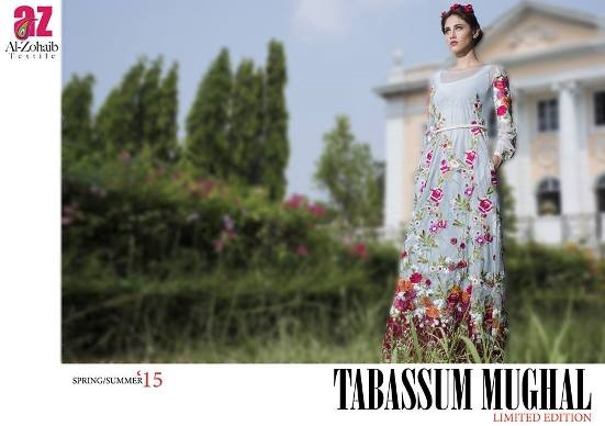 Tabassum Mughal Embroidered Lawn