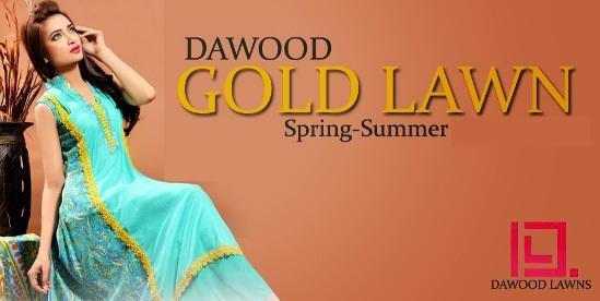 Dawood Gold Lawn 2015