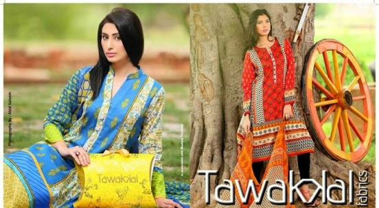 Latest Tawakkal Lawn 2015