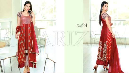 Charizma Chiffon Suits