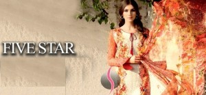 Five Star Digital Lawn Collection 2015