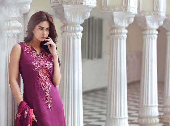 Gulaal Embroidered Chiffon 2015