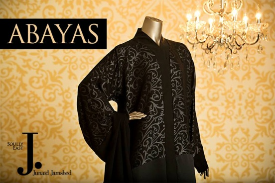 Junaid Jamshed Abaya Collection 2015