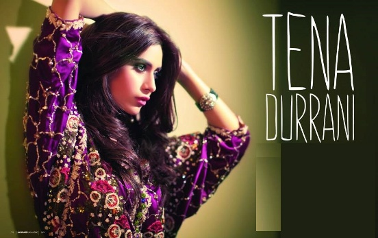 Teena Durrani Latest Collection 2015