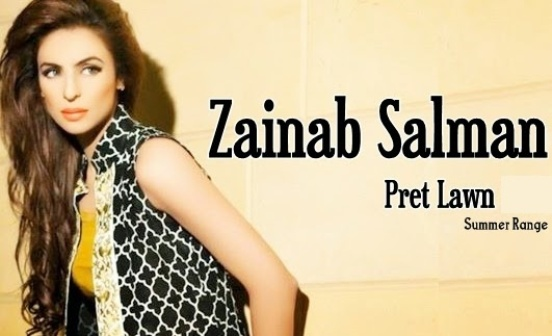 Zainab Salman Pret Collection 2015