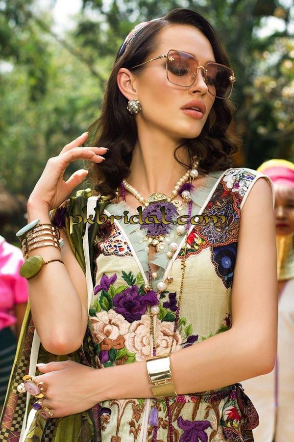 Ayesha Ibrahim Luxury Embroidered Lawn Collection 2018