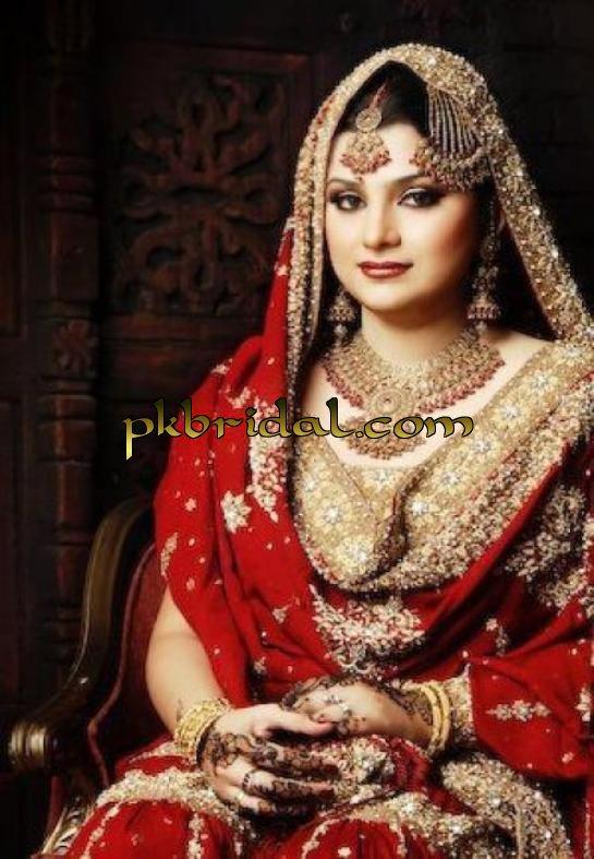 Bridal Mehndi, Jewelry and Dress 2012 Fashion